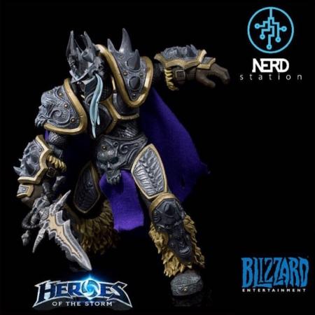 اكشن فيگور آرتاس – Arthas Warcraft Heroes of the Storm – برند NECA