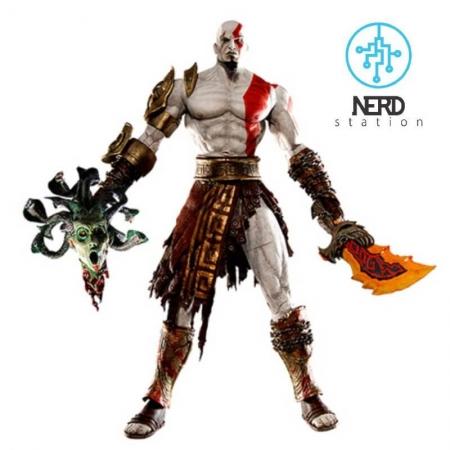 اکشن فیگور کریتوس خدای جنگ ( God of war ) محصولی از برند Neca می باشد و در سایز 18 سانتی متری به فروش می رسد . اكشن فيگور كريتوس خداى جنگ –برند Neca