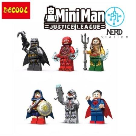 مینی فیگورهای شخصیت های لیگ عدالت
