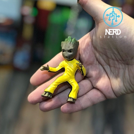 Baby Groot Key Ring