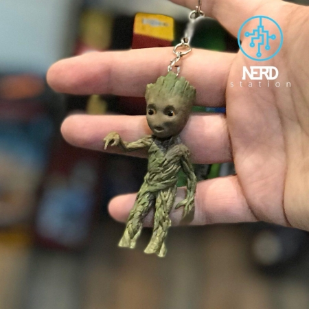 Baby Groot Key Ring