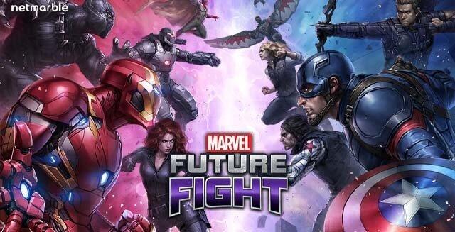 بازی marvel future fight اندروید