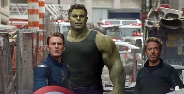 جلوه های ویژه در Avengers