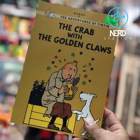 خرچنگ با چنگک های طلایی