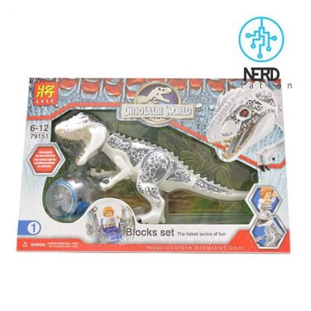 دایناسور بزرگ مفصلی سفید 2