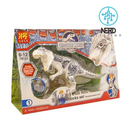 دایناسور بزرگ مفصلی سفید 3