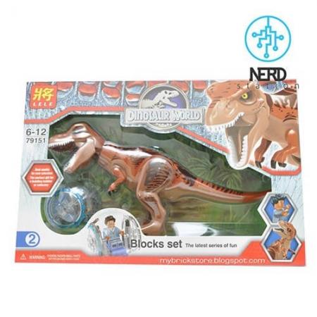 دایناسور بزرگ مفصلی قهوه_ایی 2