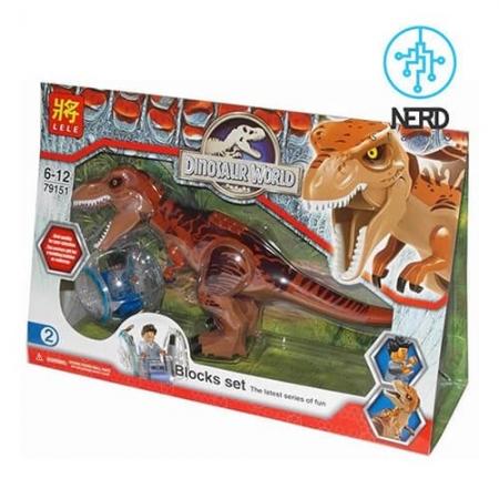 دایناسور بزرگ مفصلی قهوه_ایی 3