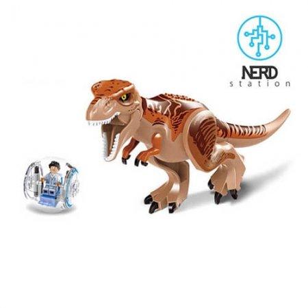 دایناسور بزرگ مفصلی قهوه_ایی