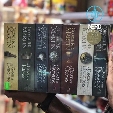 مجموعه ۷ جلد در باکس کلکسیونی