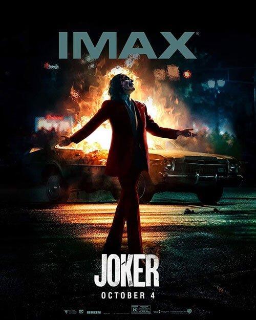 پوستر IMAX فیلم جوکر
