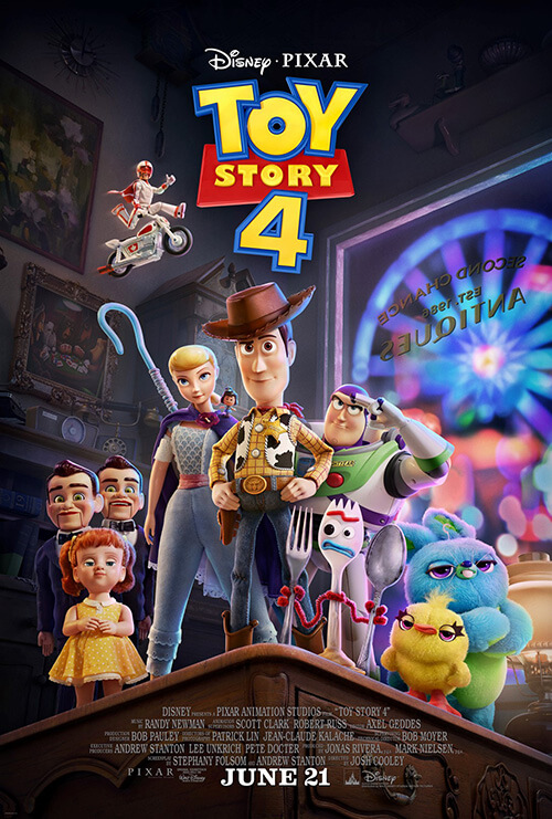 بهترین انیمیشن سال داستان اسباب بازی 4