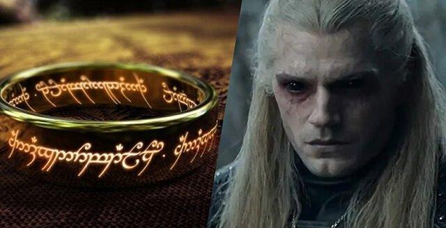 سریال The Witcher و سریال ارباب حلقه ها