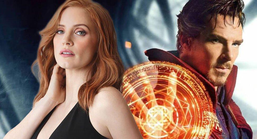 جسیکا چستین و پیشنهاد بازی در فیلم Doctor Strange