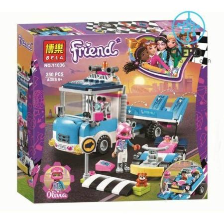 خرید لگوی کامیون تعمیر و نگهداری فرندز سری دخترانه