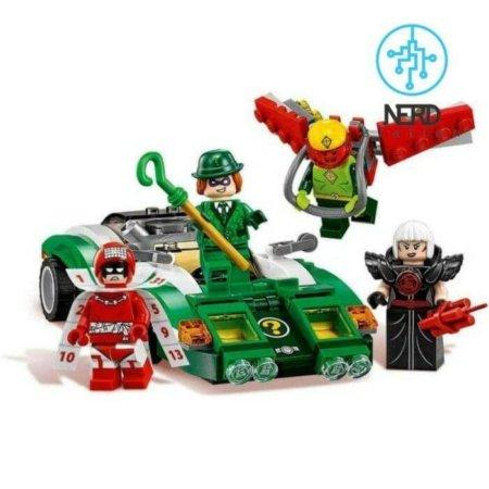 خرید لگو ماشین سبز ریدلر ابر قهرمانان