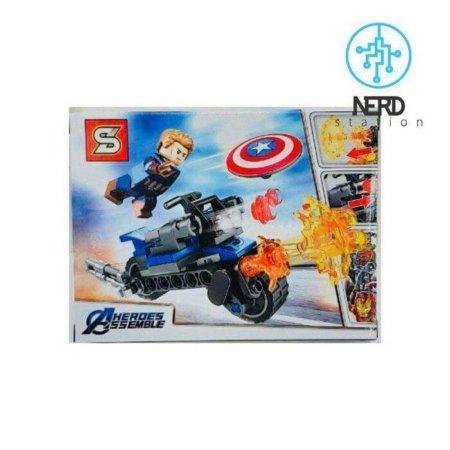 خرید لگوی موتور سیکلت کاپیتان آمریکا