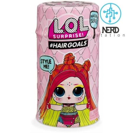 خرید عروسک لول (ال او ال) با موی طبیعی