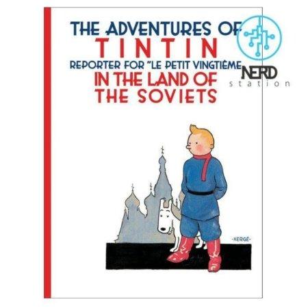 خرید کتاب ماجراهای تن تن در شوروی