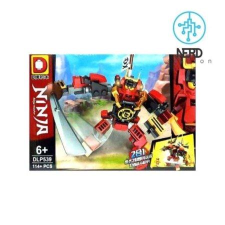خرید لگو شخصیت کای و ربات قرمز