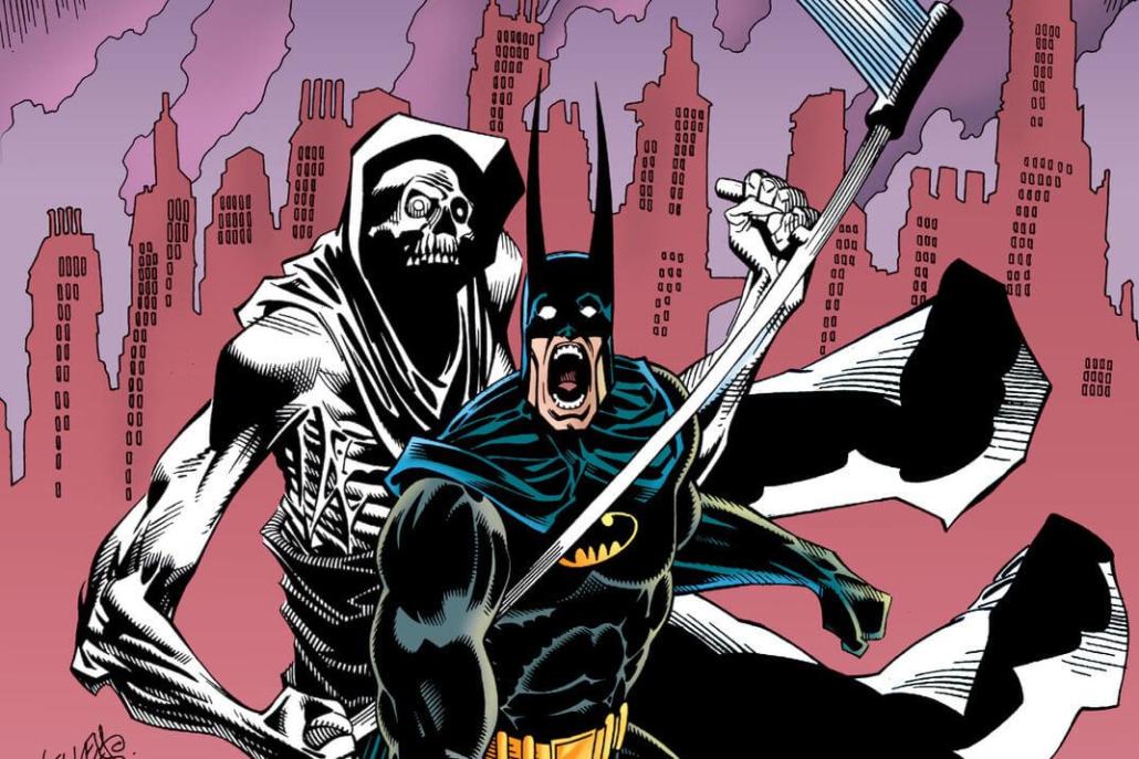 کتاب کمیک Batman Contagion