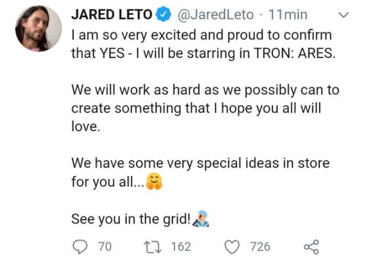 قسمت جدید فیلم Tron