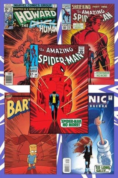 کاور مرد عنکبوتی شگفت انگیز