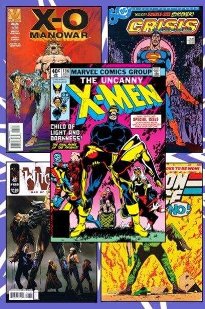 کاور کتاب کمیک x-men
