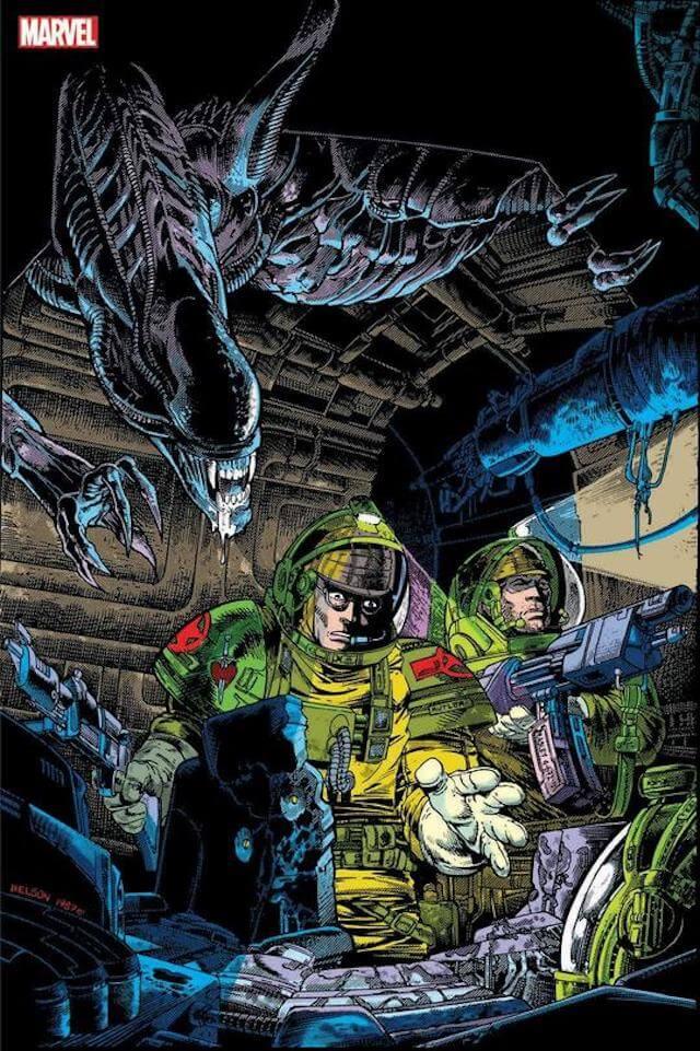 کتاب کمیک Aliens Omnibus