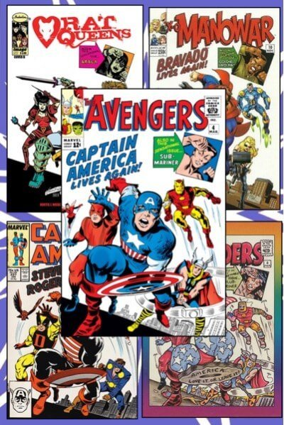 کتاب کمیک Avengers