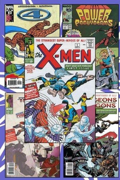 کتاب کمیک Uncanny X-men