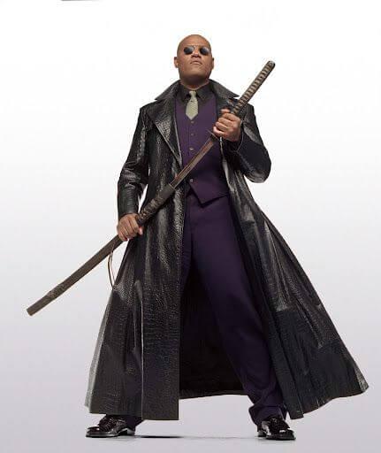 لارنس فیشبرن در فیلم the matrix 4