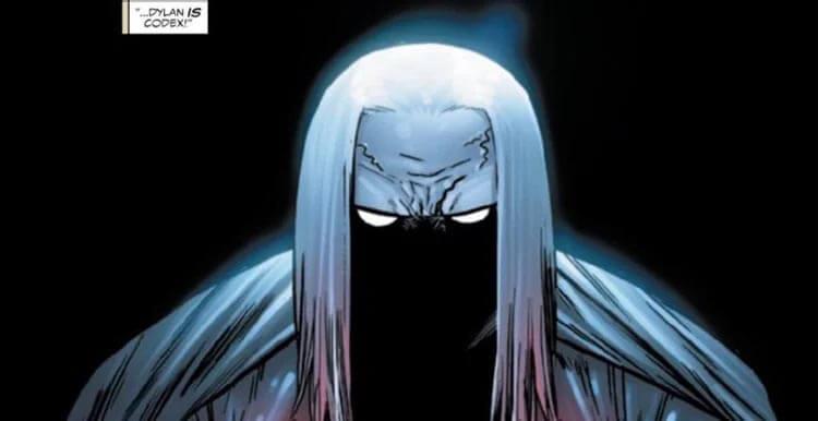کدکس در کمیک Venom
