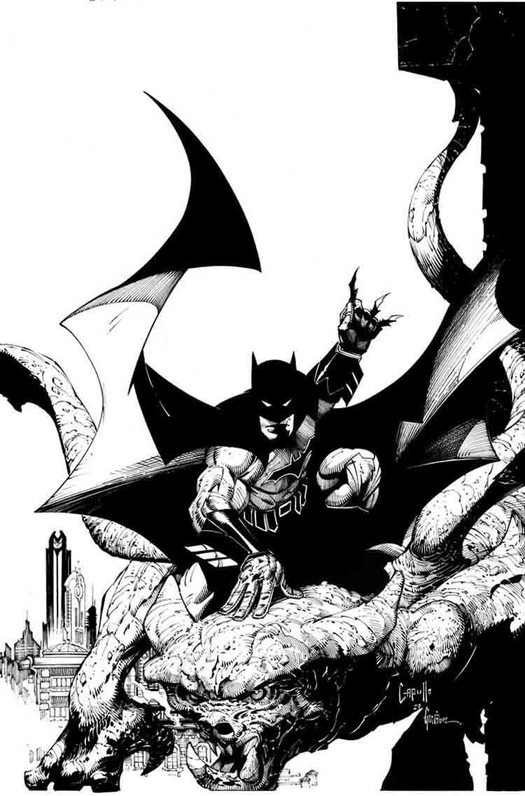 بازگشت Batman black and white