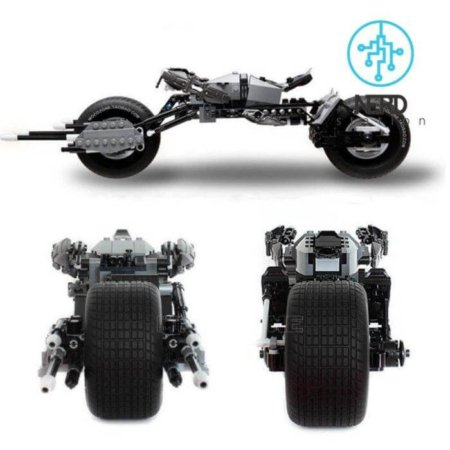 لگوی موتور سیکلت بتمن (بت پاد) سری ابر قهرمانان