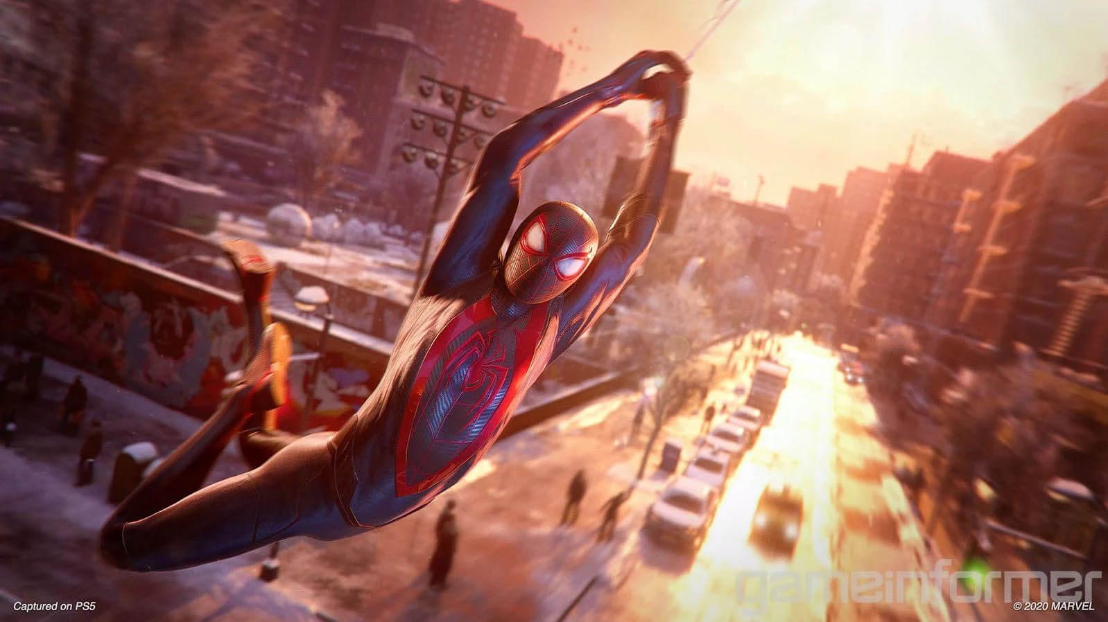 تصاویر جدید spider man miles morales