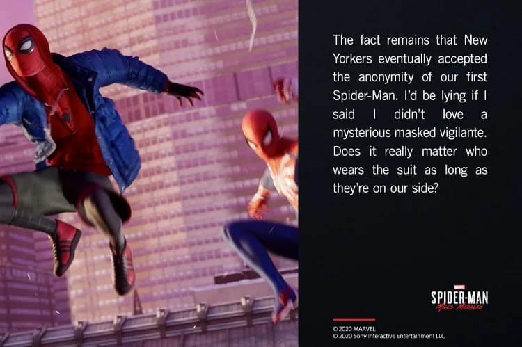 کاستوم ویژه بازی spider man miles morales