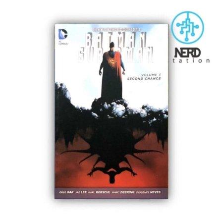 خرید کمیک بتمن و سوپرمن شانس دوم - کمیک سوپرمن بتمن زبان انگلیسی
