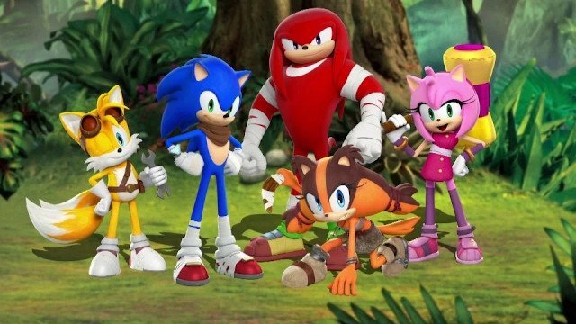 سریال انیمیشنی Sonic the Hedgehog