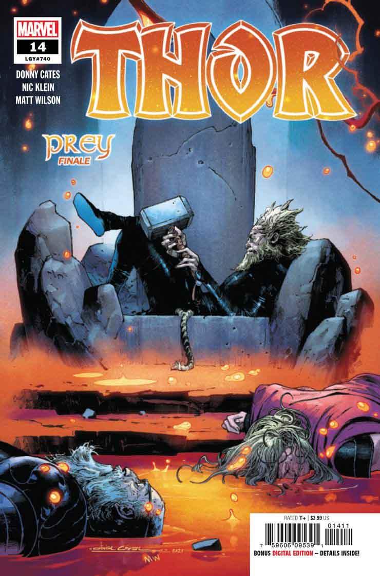 چکش ثور و افتادن آن به دست شروری دیگر در شماره جدید کمیک Thor