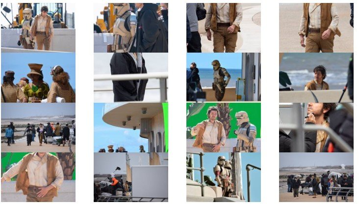 تصاویری از پشت صحنه سریال پیش درآمد جنگ ستارگان