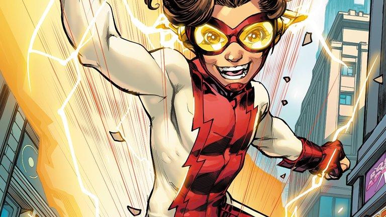 اولین تصویر پسر فلش در سریال The Flash