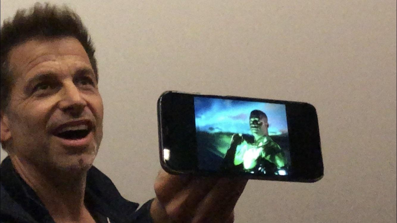 آشکار شدن تصویر گرین لنترن در فیلم  Justice League