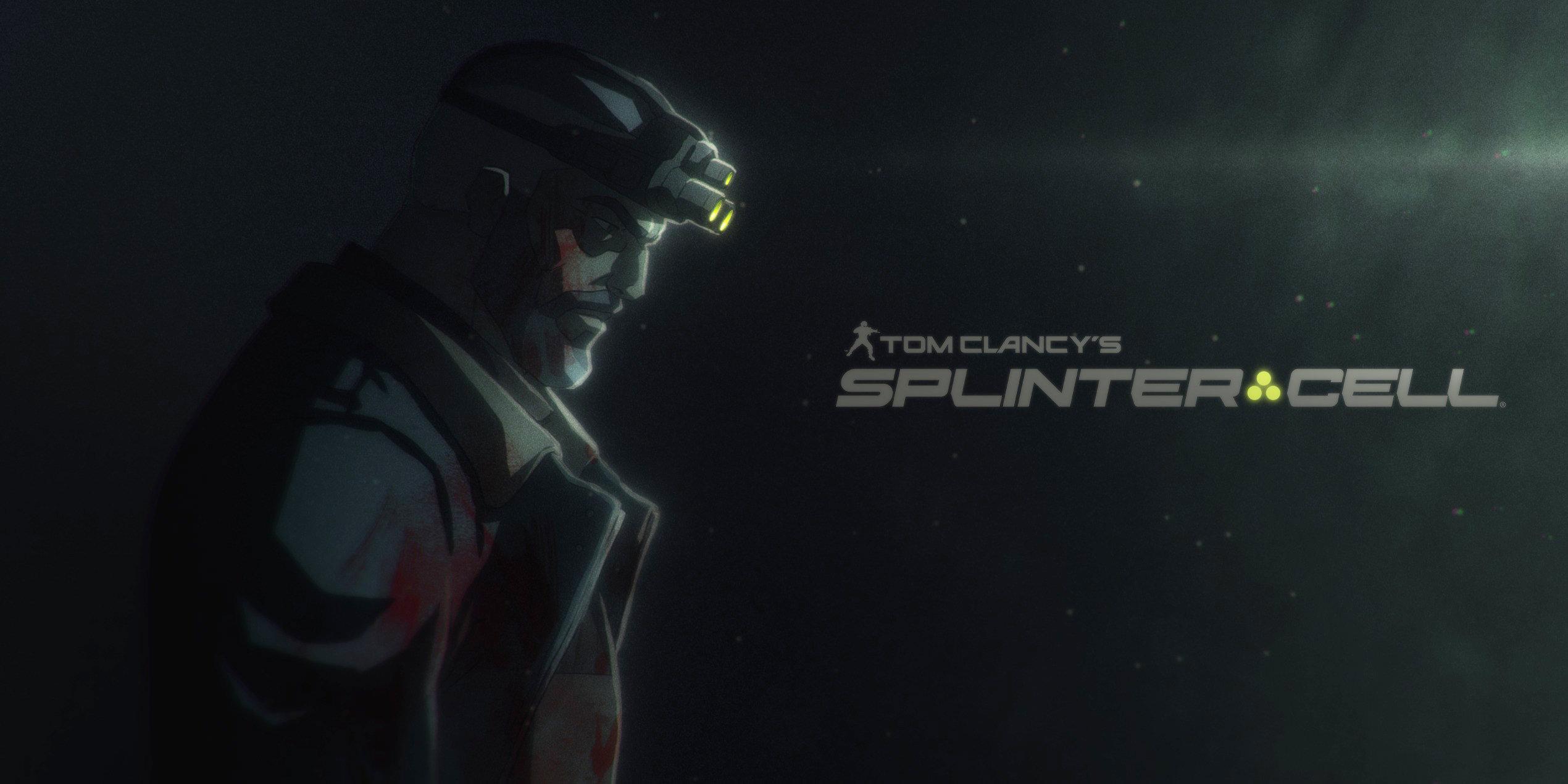 اولین تصویر از انیمه سریالی Splinter Cell