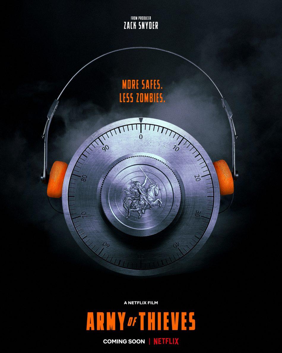 انتشار پوستر جدید از فیلم Army of Thieves
