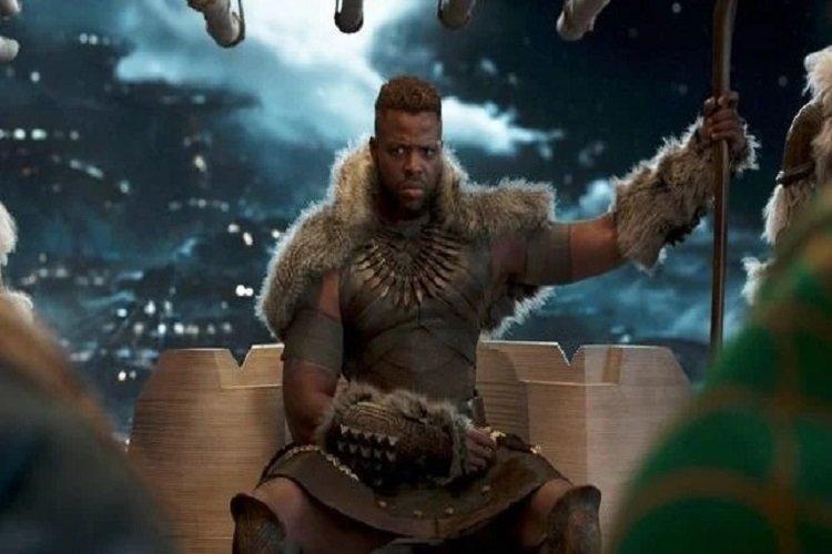 وینستون دوک در فیلم Black Panther: Wakanda Forever حضور دارد