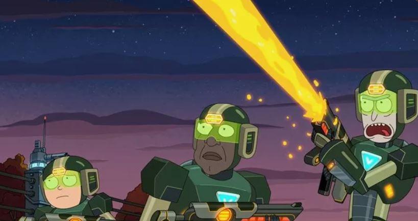 قسمت آخر فصل پنجم Rick and Morty بیش از 1 ساعت است