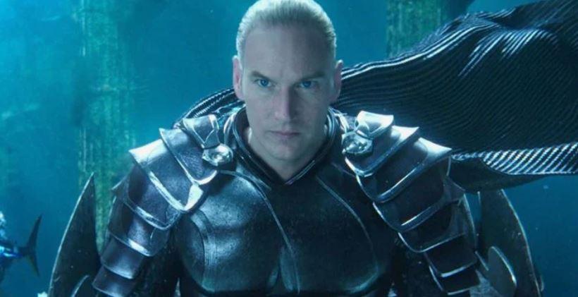 پاتریک ویلسون در فیلم Aquaman 2 ظاهر متفاوتی دارد