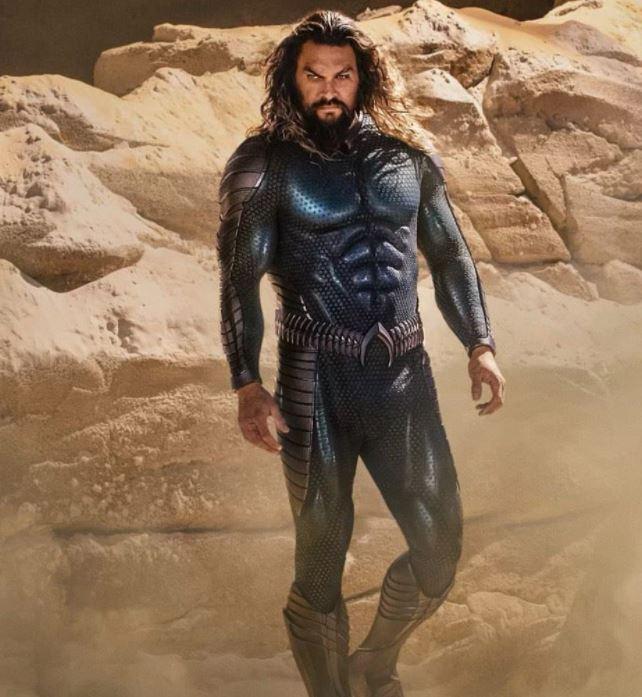 اولین تصویر آکوامن در فیلم Aquaman 2 منتشر شد